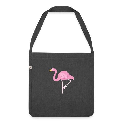 Flamingo - Schoudertas van gerecycled materiaal