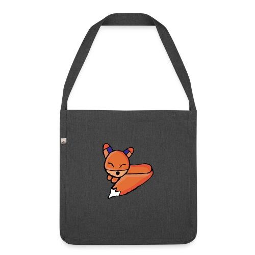 Edo le renard - Sac bandoulière 100 % recyclé