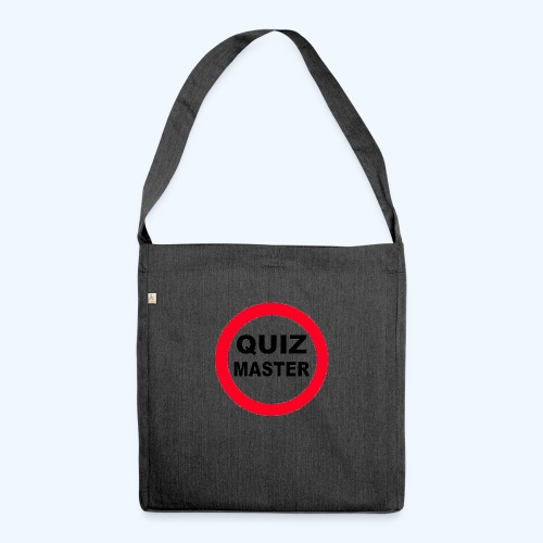 Quiz Master Stop Sign - Shoulder Bag made from recycled material
