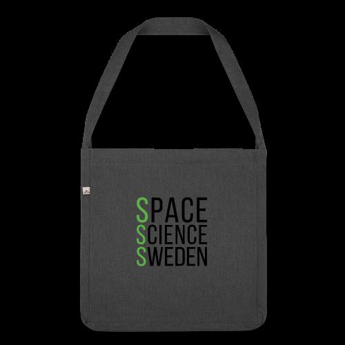 Space Science Sweden - svart - Axelväska av återvinningsmaterial