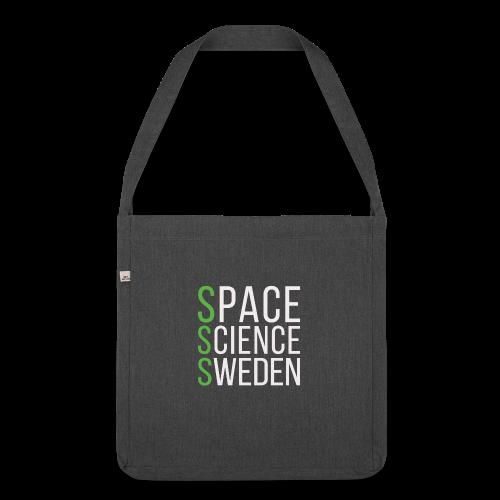 Space Science Sweden - vit - Axelväska av återvinningsmaterial