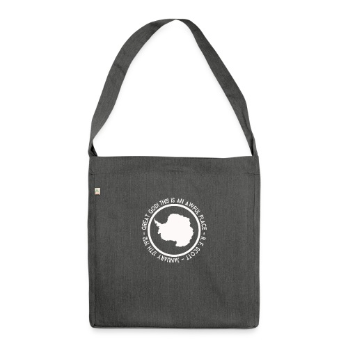 Great God! - Shoulder Bag made from recycled material
