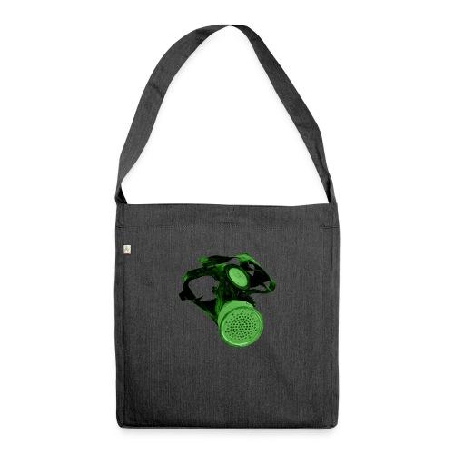 gas shield - Shoulder Bag made from recycled material