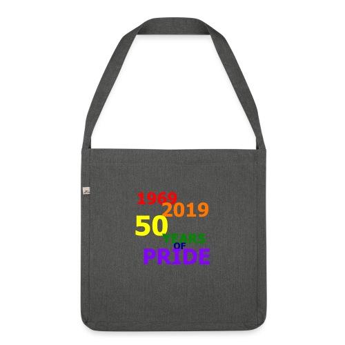 50 Jahre CSD - Schultertasche aus Recycling-Material