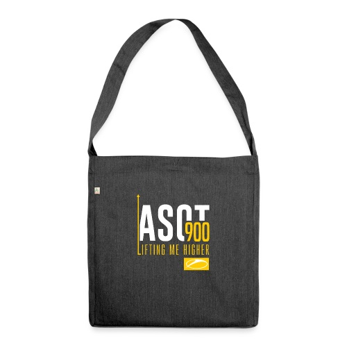 asot9003 - Shoulder Bag made from recycled material