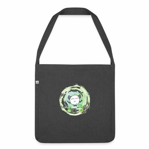 Omm - Kleines Monster - Schultertasche aus Recycling-Material