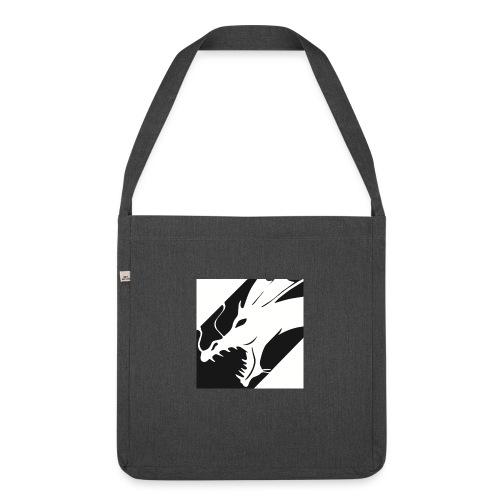 Dragon Black - Schoudertas van gerecycled materiaal