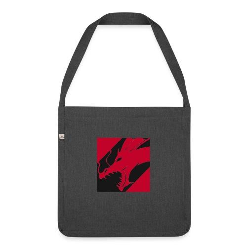 Dragon Red - Schoudertas van gerecycled materiaal