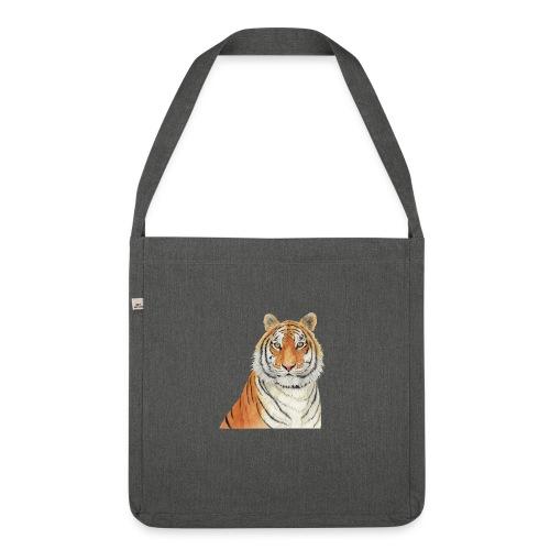 Tigre,Tiger,Wildlife,Natura,Felino - Borsa in materiale riciclato