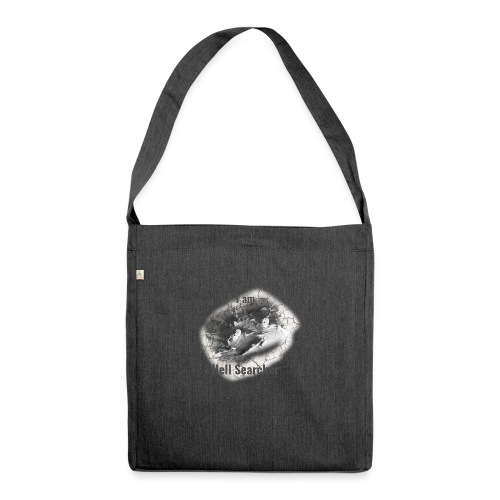 I am Hell Searcher, T-Shirt Women - Shoulder Bag made from recycled material