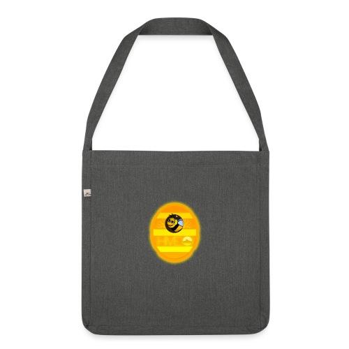 Herre T-Shirt - Med logo - Skuldertaske af recycling-material