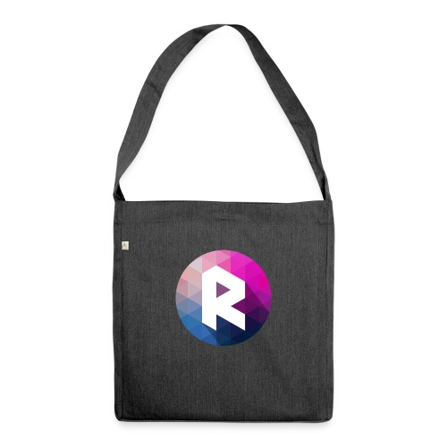 radiant logo - Shoulder Bag made from recycled material
