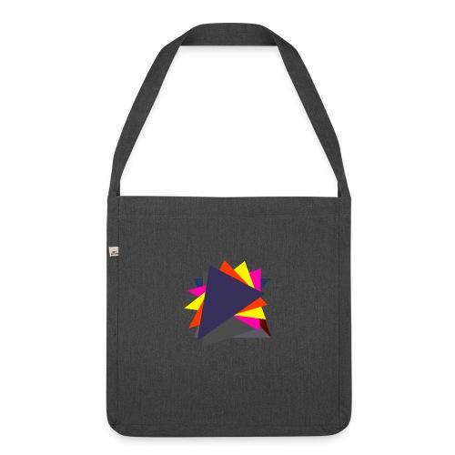 art triangle - Torba na ramię z materiału recyklingowego