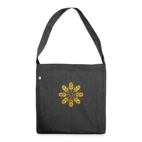 Inoue clan kamon in gold - Shoulder Bag made from recycled material