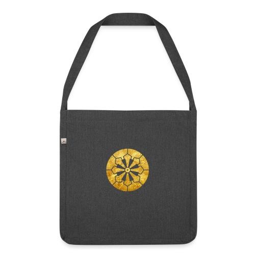 Sanja Matsuri Komagata mon gold - Shoulder Bag made from recycled material
