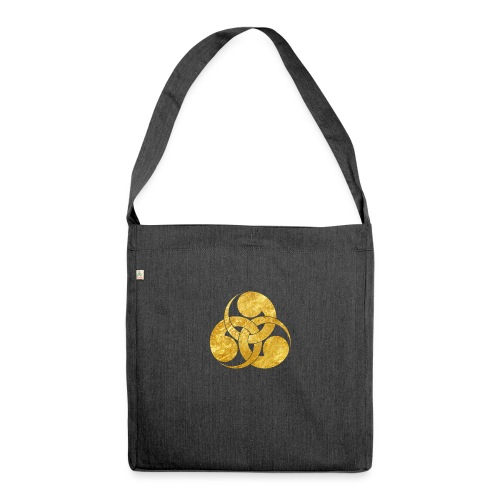 Tadpole Mon Japanese samurai clan - Shoulder Bag made from recycled material