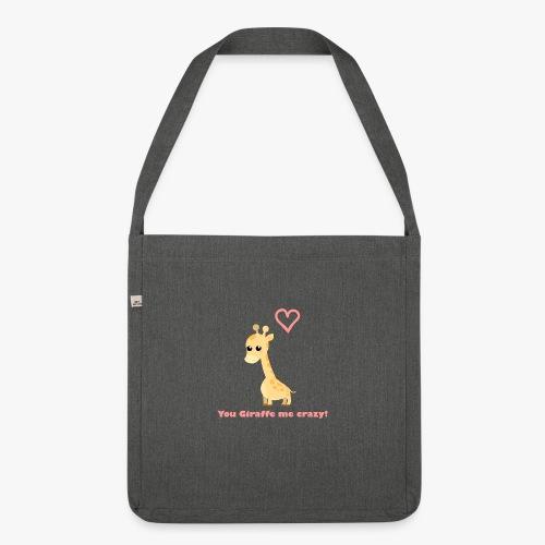 Giraffe Me Crazy - Skuldertaske af recycling-material