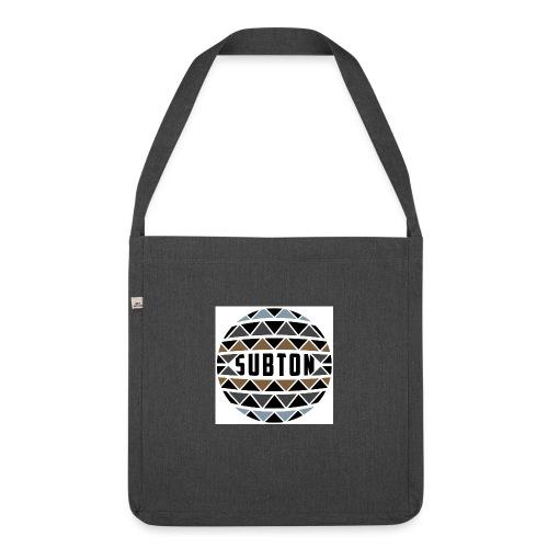 wereldbol_subton2-jpg - Shoulder Bag made from recycled material