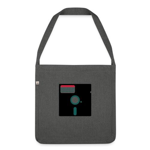 5 1/4 inch floppy disk - Olkalaukku kierrätysmateriaalista