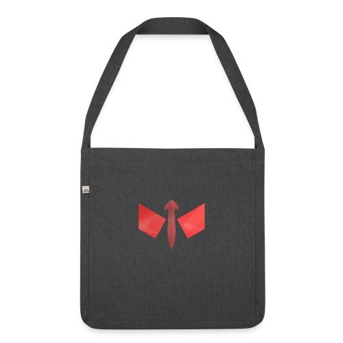 butterfly-png - Schoudertas van gerecycled materiaal