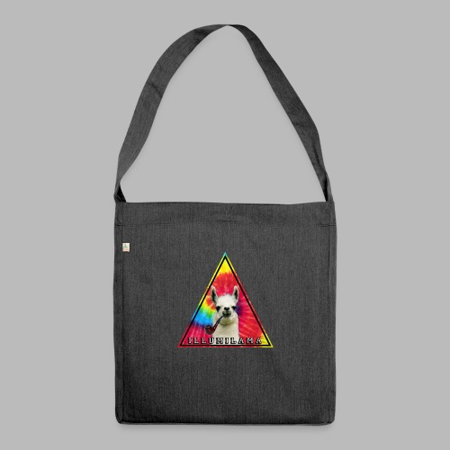 Illumilama logo T-shirt - Shoulder Bag made from recycled material