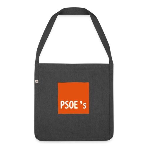PSOEs - Bandolera de material reciclado