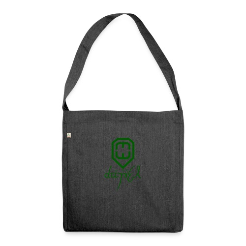 Cup logo Dan - Shoulder Bag made from recycled material