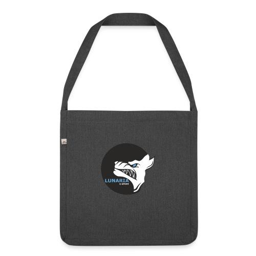 Lunaria_Logo tete pleine - Sac bandoulière 100 % recyclé