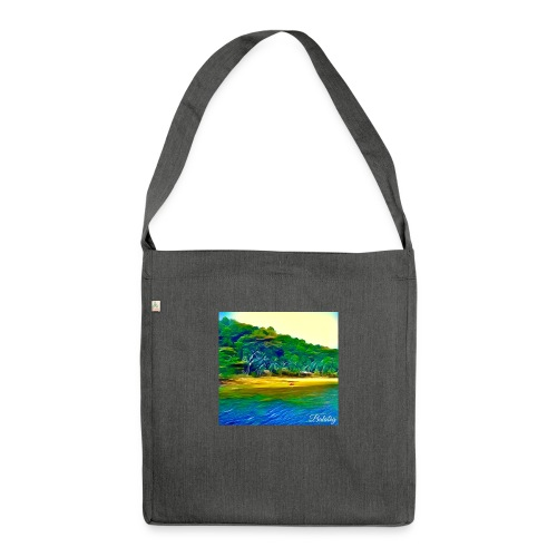 Tropical beach - Borsa in materiale riciclato