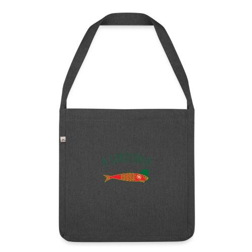 A Sardinha - Bandeira - Sac bandoulière 100 % recyclé