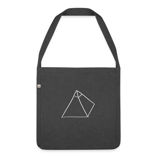 Casquette avec logo (Noir) - Sac bandoulière 100 % recyclé