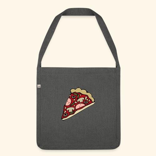 Pizza - Sac bandoulière 100 % recyclé