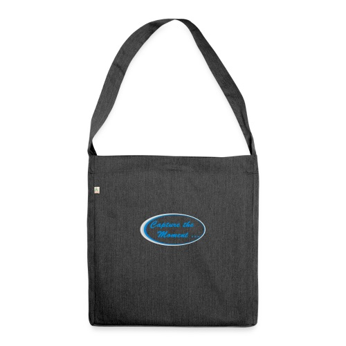 Logo capture the moment - Shoulder Bag made from recycled material