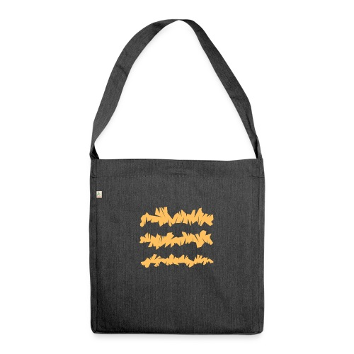 Orange_Sample.png - Schultertasche aus Recycling-Material