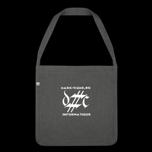 Dark-Code Gothic Logo - Sac bandoulière 100 % recyclé