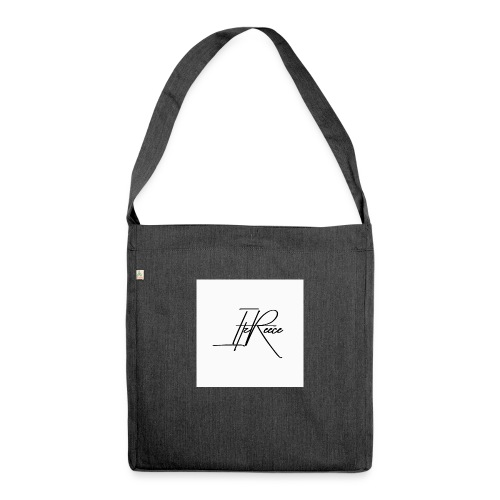Small logo white bg - Shoulder Bag made from recycled material