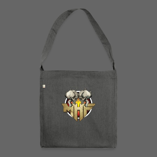 new mhf logo - Shoulder Bag made from recycled material