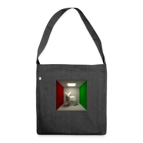 Bunny in a Box - Shoulder Bag made from recycled material