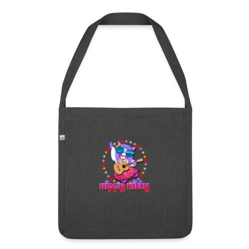 Hippy Kitty - Borsa in materiale riciclato
