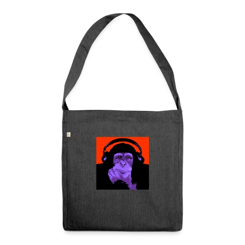 project dj monkey - Schoudertas van gerecycled materiaal