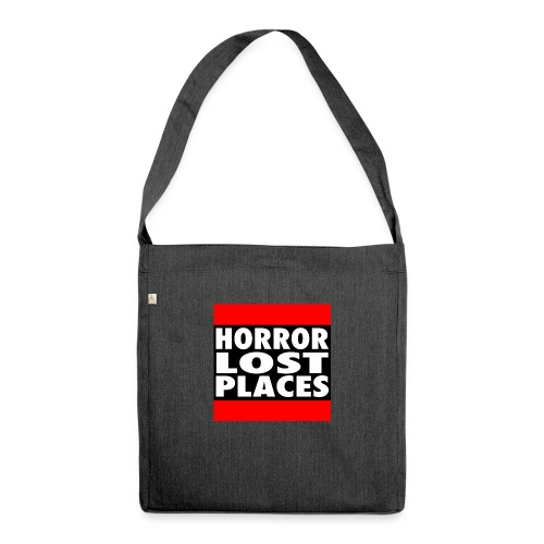 Horror Lost Places - Schultertasche aus Recycling-Material