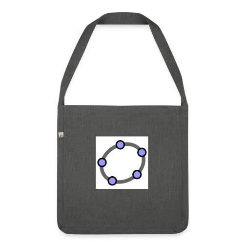 GeoGebra Ellipse - Shoulder Bag made from recycled material