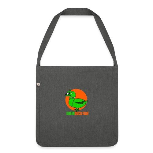 Greenduck Film Orange Sun Logo - Skuldertaske af recycling-material