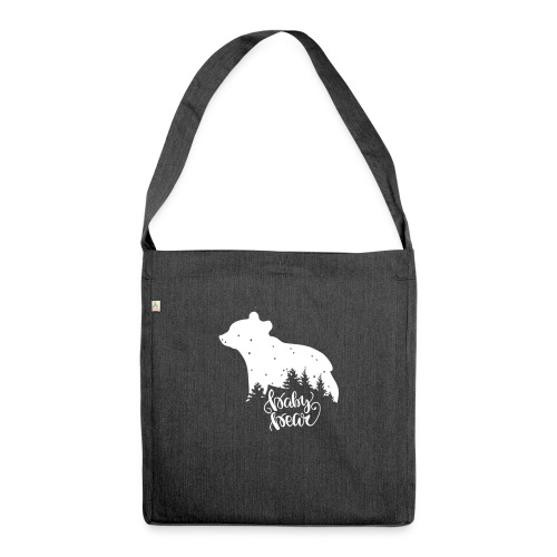 Baby Bear - Schultertasche aus Recycling-Material