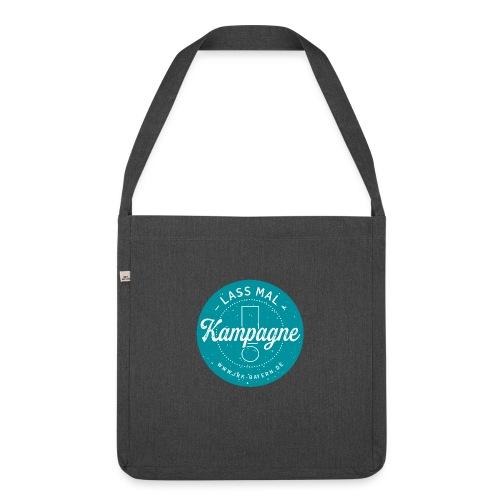 JRK Logo Lass mal Kampagne - Schultertasche aus Recycling-Material