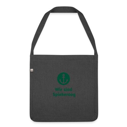Wir sind Spiekeroog Freunde Sortiment - Schultertasche aus Recycling-Material