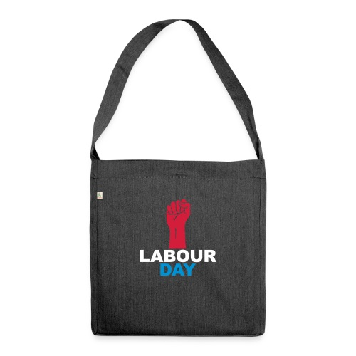 Labour day - Shoulder Bag made from recycled material