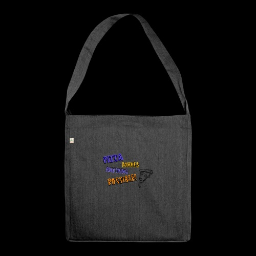 Pizza makes anything possible! - Colorful Design - Borsa in materiale riciclato