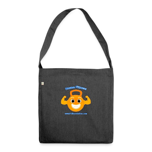 Logo 01Musculation Home Fitness Kettlebell - Sac bandoulière 100 % recyclé