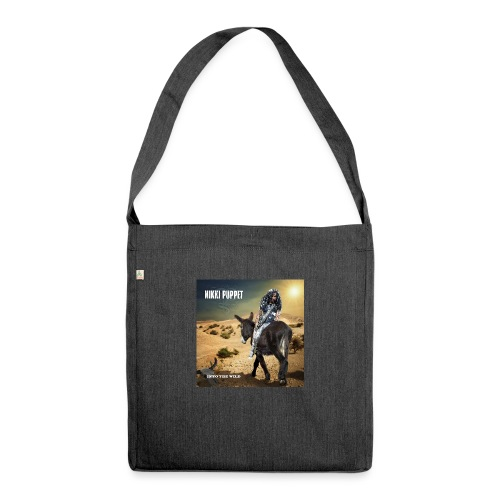 NIKKI PUPPET INTO THE WILD - Schultertasche aus Recycling-Material